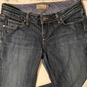 PAIGE Jeans | Laurel Canyon Low Rise Bootcut Jeans